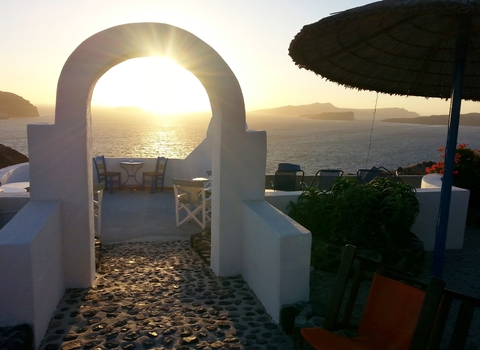 Santorini - Sonnenuntergang
