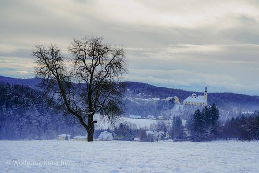 Winter über Maria Trost