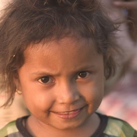 Kind in Ost Timor