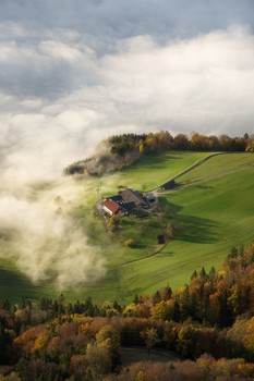 Farm above the clouds
