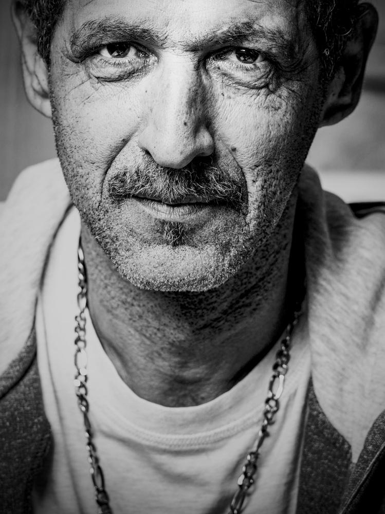 Portrait Stanislav, construction worker