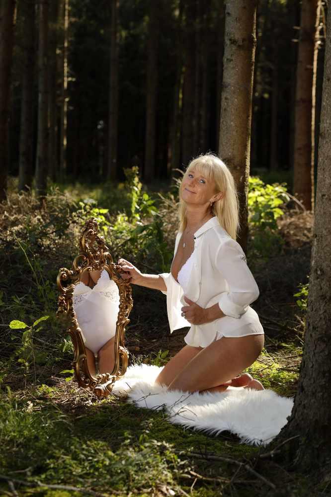 Spieglein im Wald