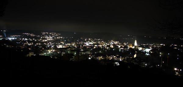 Mattsee bei Nacht