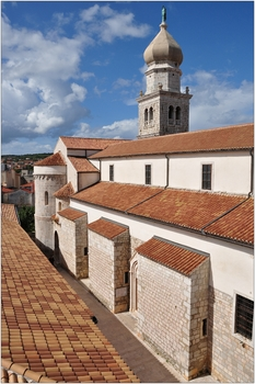 Krk, Kathedrale Sv. Qvirin