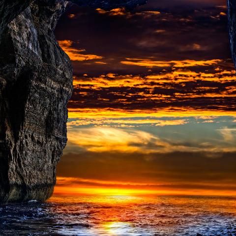 The Blue Sundown