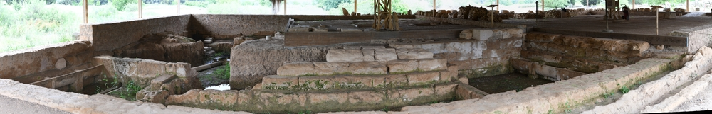 Nemea, Badehaus aus der Antike