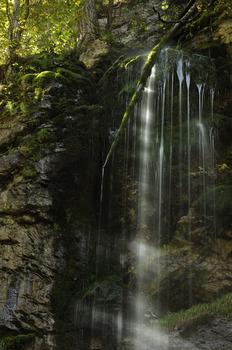 Wasserfall im Hartelsgraben