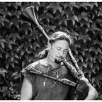 Medieval minstrel