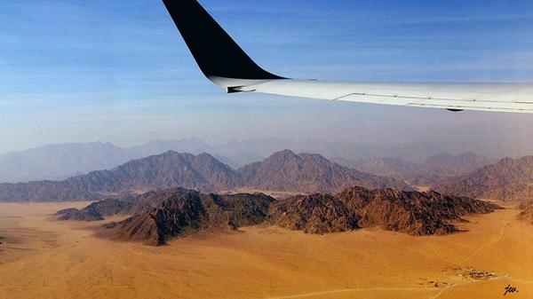 Anflug- Sharm el Sheikh