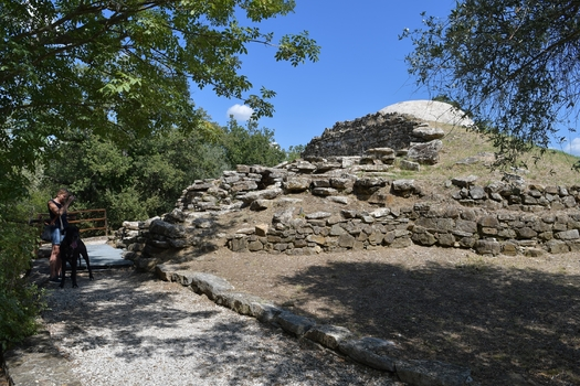 Tombe Vetulonia (Etruskergrab)
