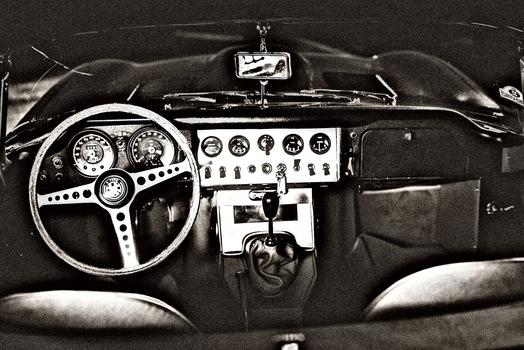 Cockpit Jaguar