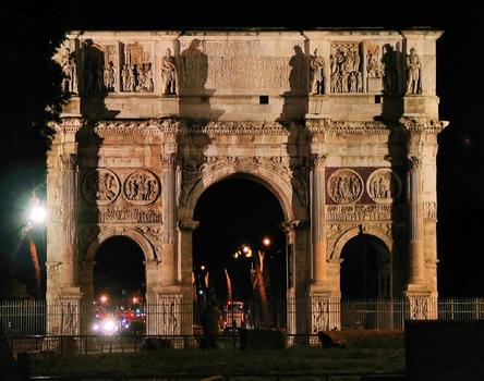 Konstantinsbogen / Rom
