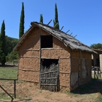 Etruskerhütte, Nachbau (Nekropole Populonia)