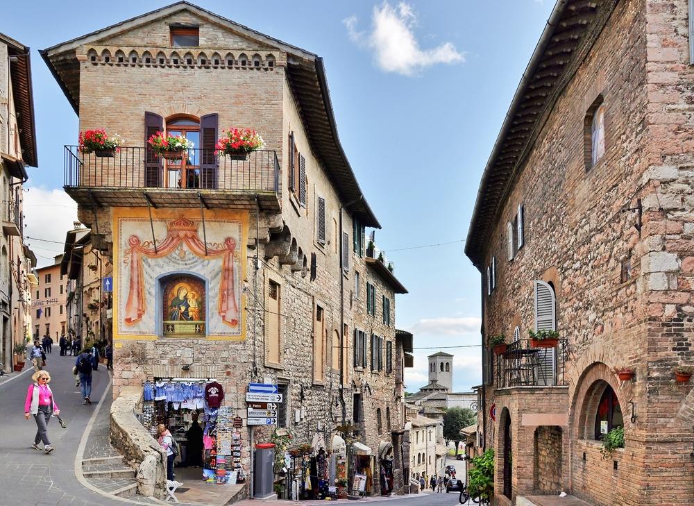 In Assisi... / Umbrien / Italien