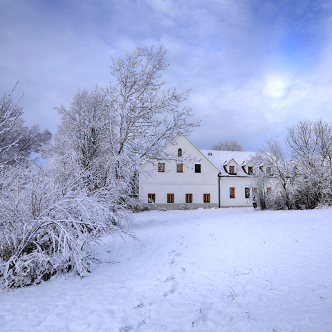 Landhofmühle im Winter