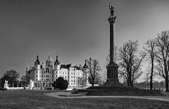 Schweriner Stadtansichten II (S/W)