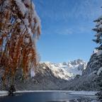 Erster Schnee am Gosausee