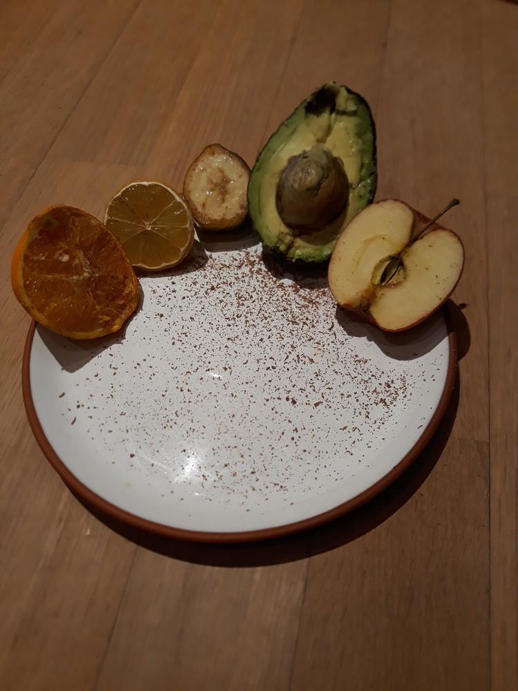 halbiertes Obst