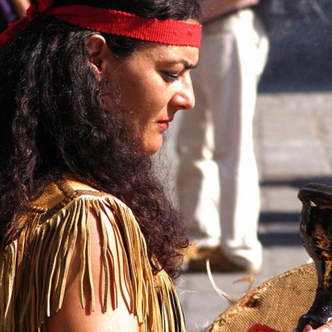 Indianerfrau