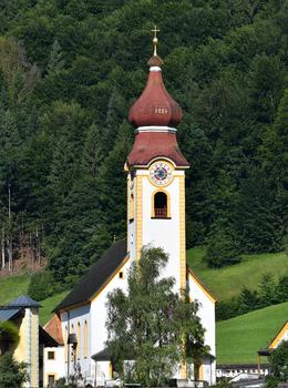 Pfarrkirche zum Hl. Jakobus d. Älteren in Unken