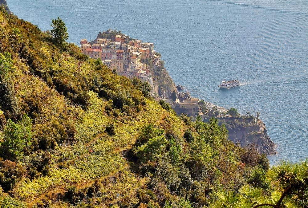 Manarola - Cinque Terre / Ligurien / Italien