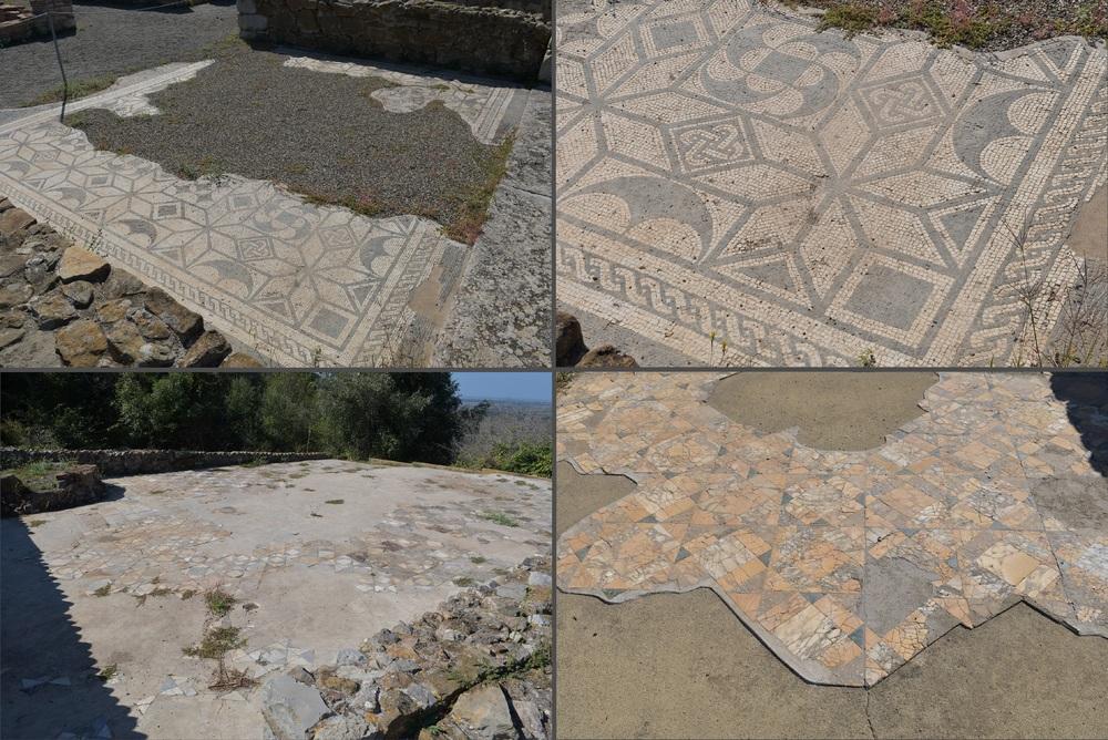 Bodenmosaike der Römer in Roselle