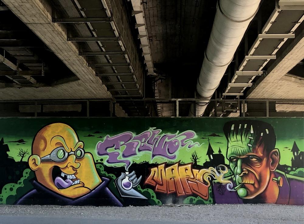 Unter der Brücke (1)