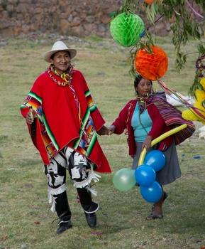 Dorffest in Peru
