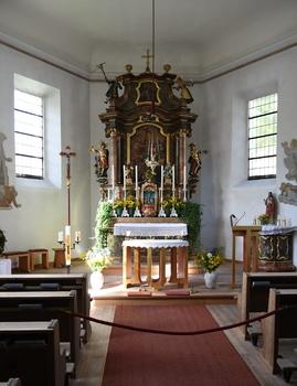 Altar, Pfarrkirche Hinterthal