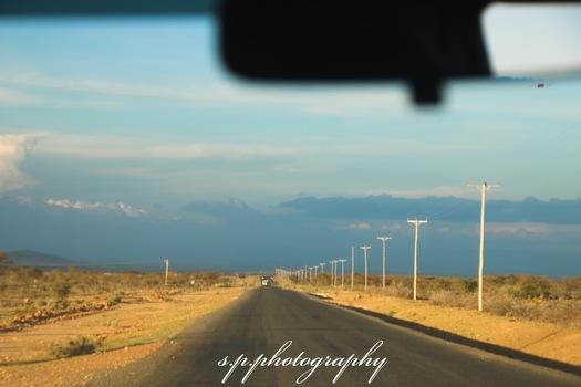 Road through Kenya