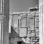 Erechtheion von innen  / Akropolis / Athen (1)