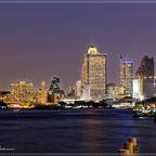 Bangkok - Richtung Taksin Brücke