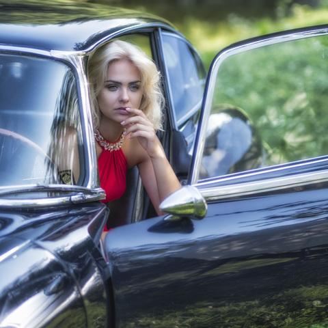 Julia mit Jaguar_001