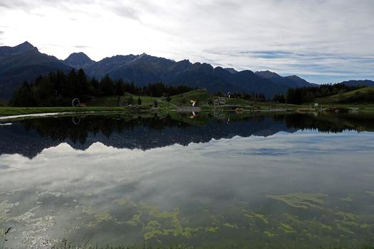 der Wolfsee auf ca 1400m...