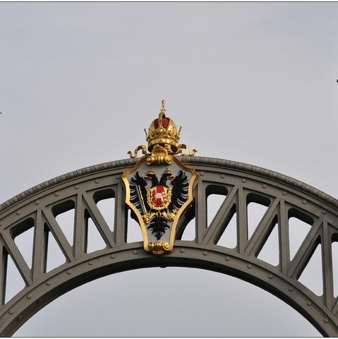 Oberndorf Länderbrücke, Detail