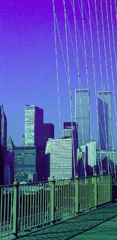 WORLD TRADE CENTER (9/11) VOR CA . 40 JAHREN