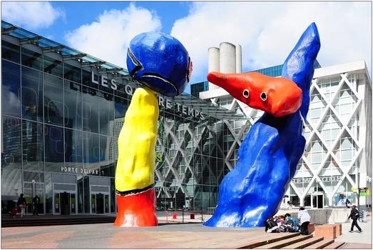 Paris, La Défense, Miro