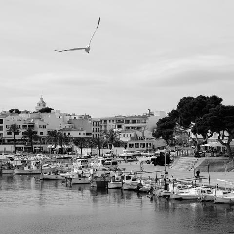 Im Hafen von Cala Rajada