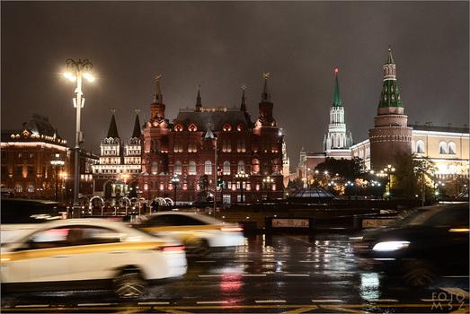 Haben Sie Moskau bei Nacht gesehen?