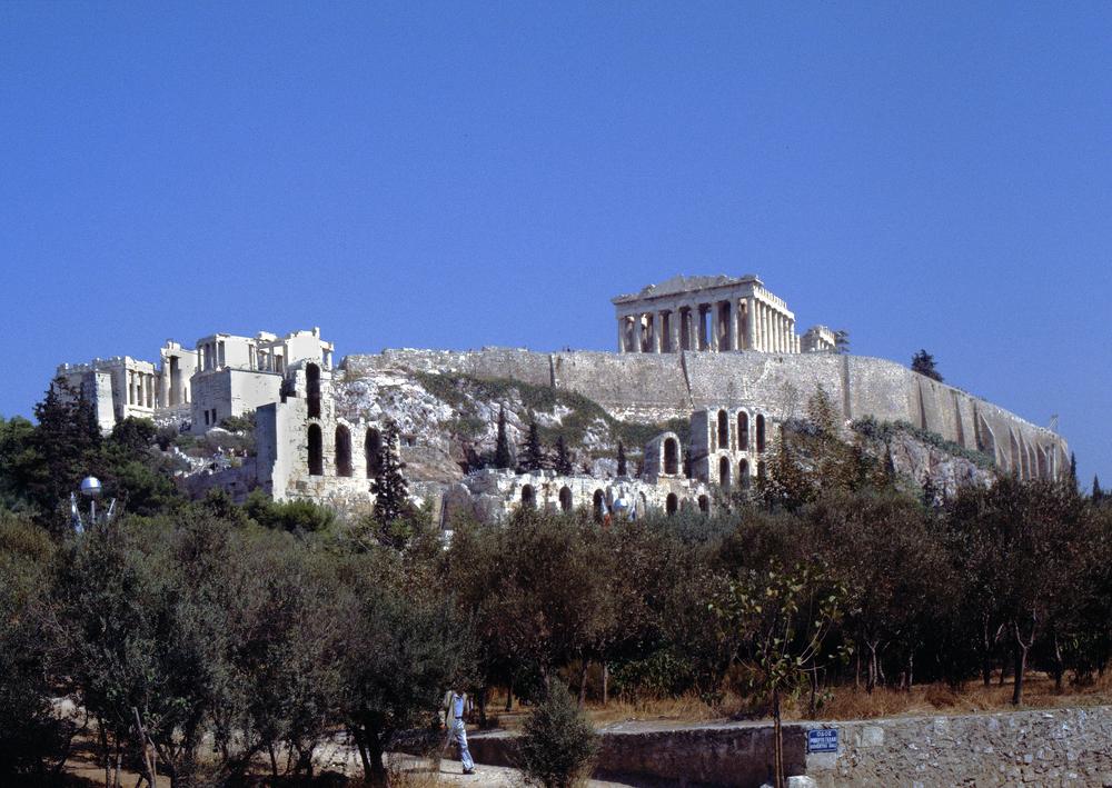 Akropolis - Athen  (1985 Diascann)