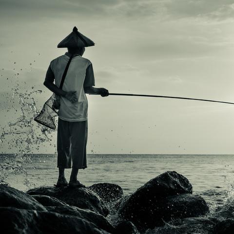 Fischer auf Lombok