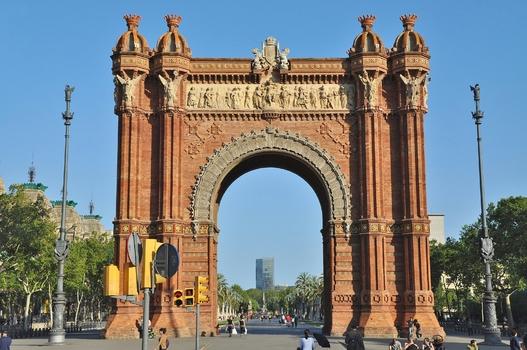 Arc de Triomf - Barcelona  (Triumphbogen  3/3)