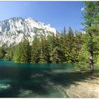 Der grüne See...