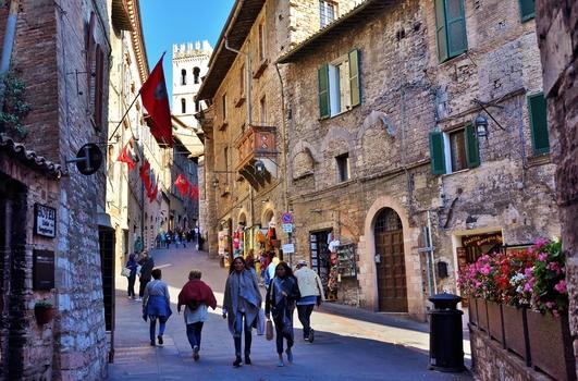 Assisi / Umbrien / Italien