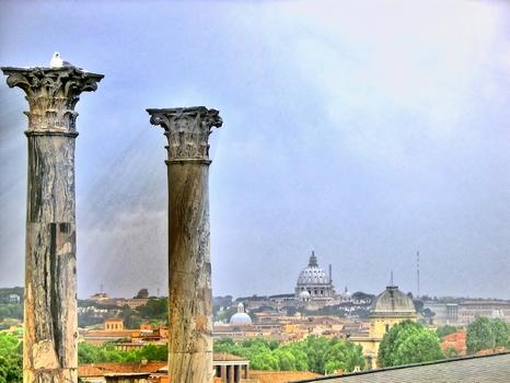 Richtung Petersdom / Rom