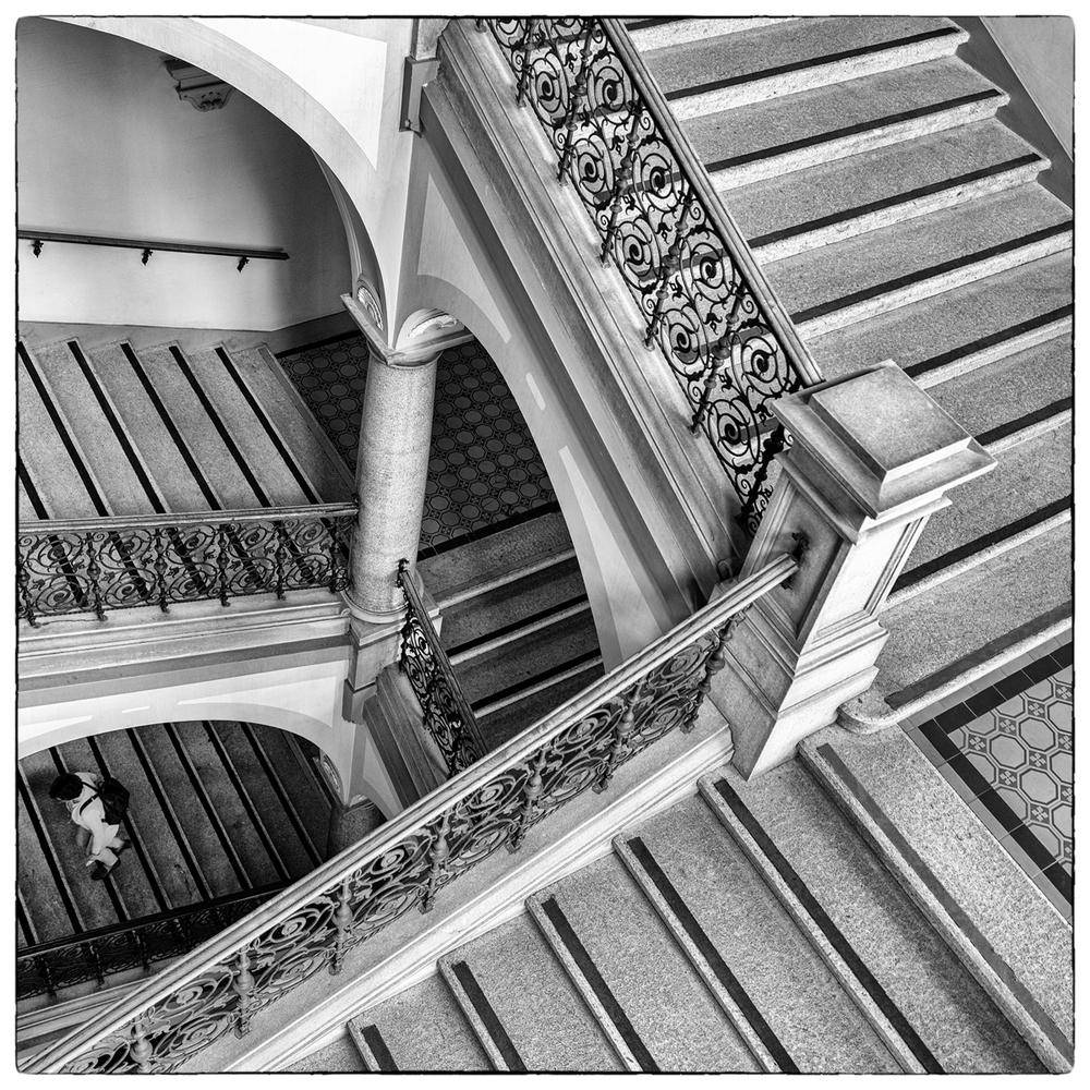 Im Stiegenhaus