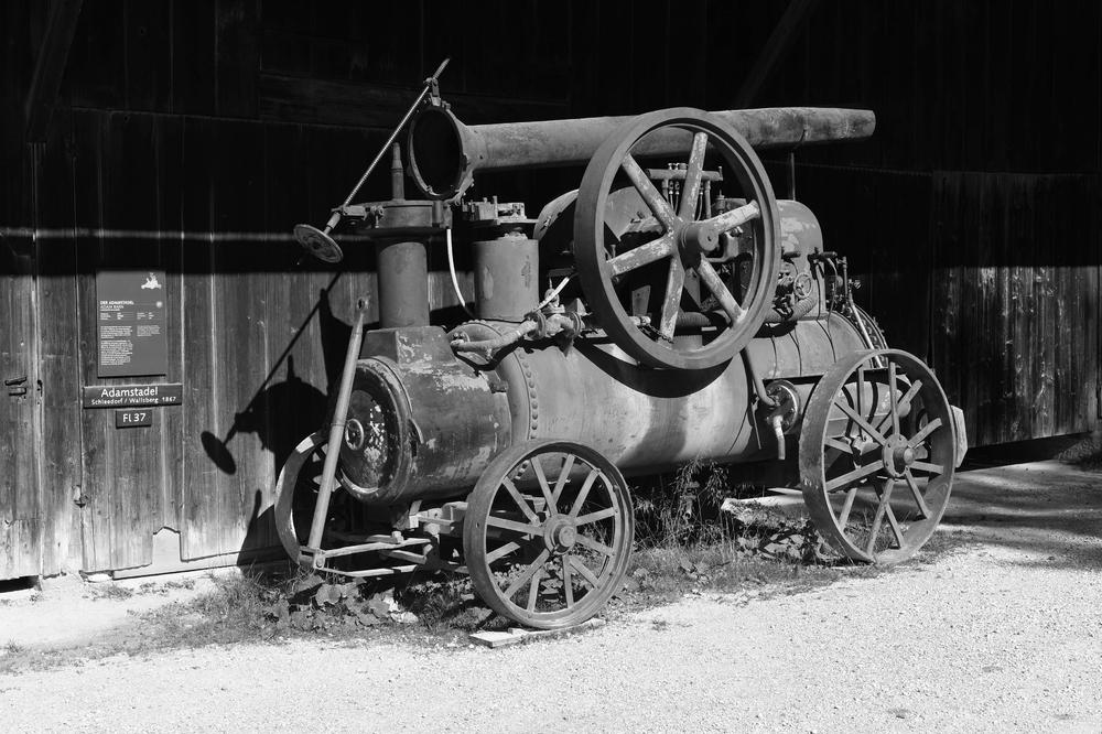 Dampfmaschine (Freilichtmuseum Großgmain)