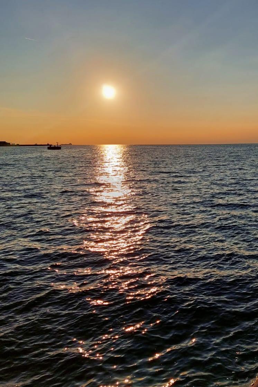 Triest Sonnenuntergang