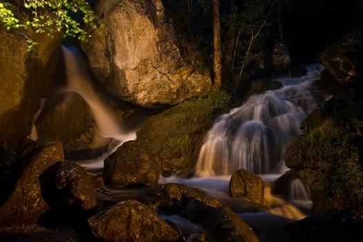 die 2 Wasserfälle