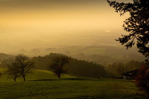 Sonnenuntergang Kollmitzberg 2